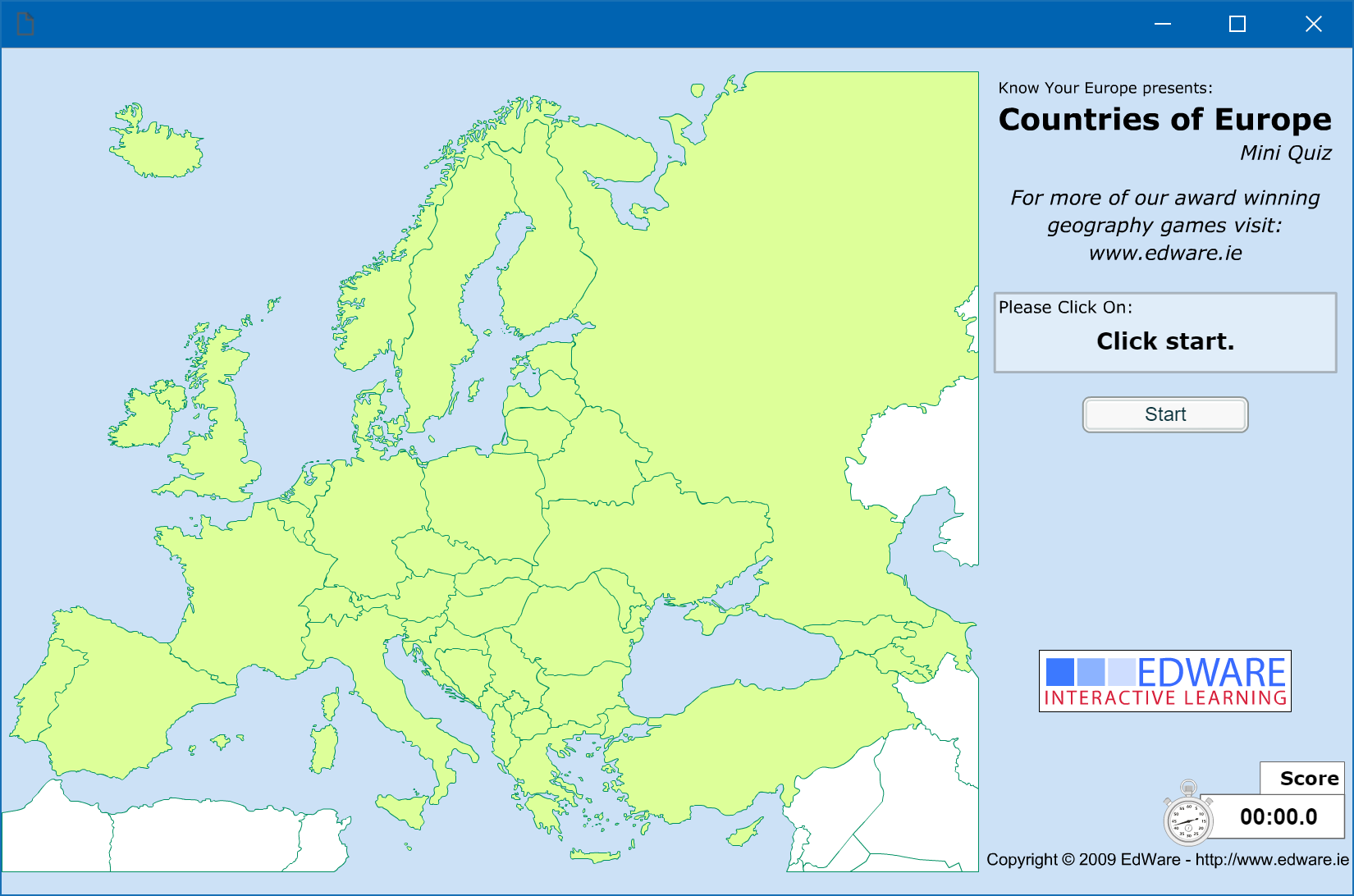 Countries of Europe: Mini Quiz