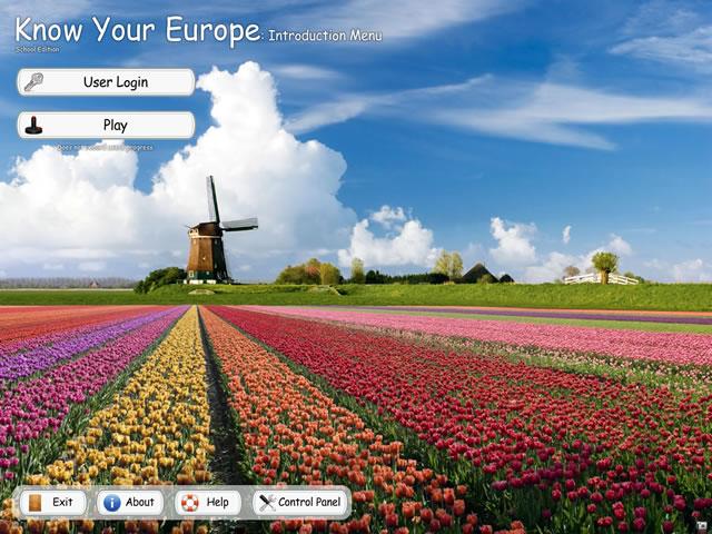 Know Your Europe - Menu
