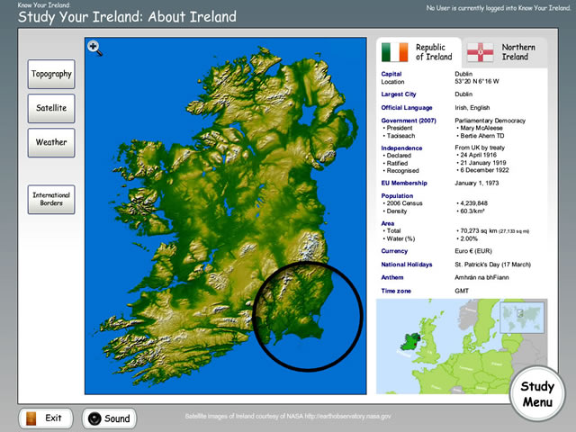 EdWare - Know Your Ireland - Study