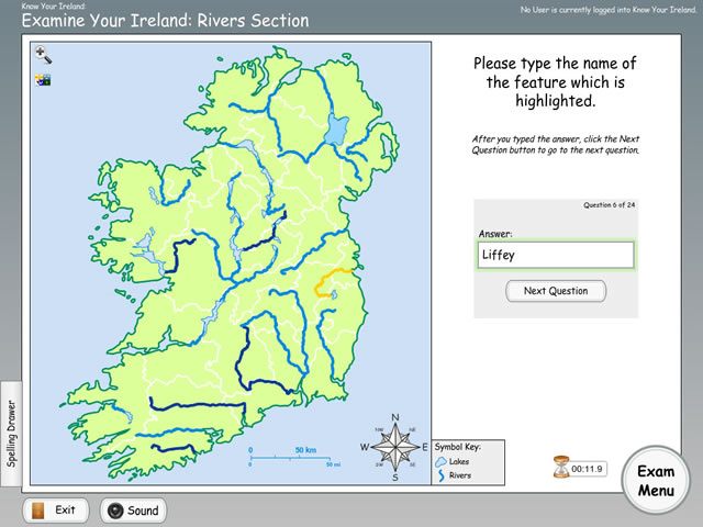 Know Your Ireland - Examine Rivers