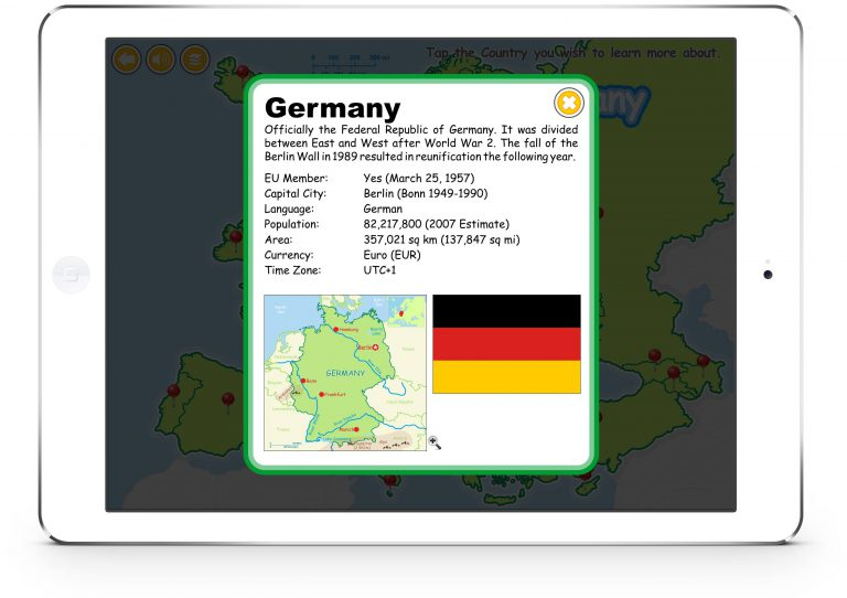 Know Your Europe for iPad