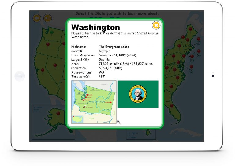 Know Your USA for iPad