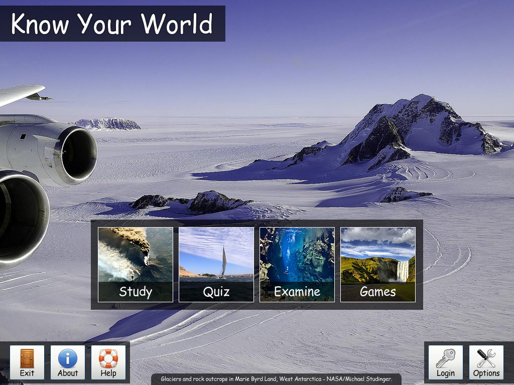 Know Your World 3.0 - Screenshot