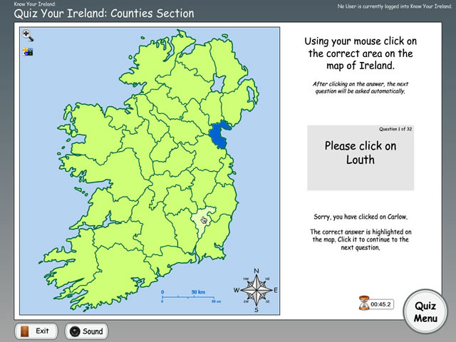 Map Of Ireland Quiz.Know Your Ireland 3 0 Archives Edware